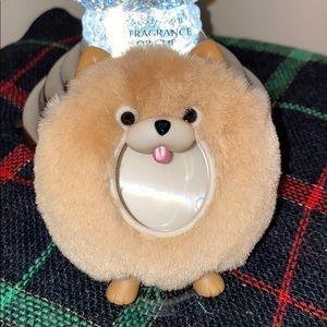 Cute Fuzzy Pomeranian Car Freshener Vent Clip